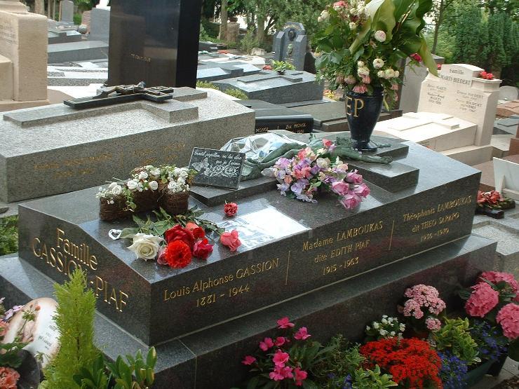 The p re lachaise cemetery edith piaf - Technique de la chaise ...